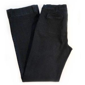 NYDJ | Black Wide Leg Trouser Jeans